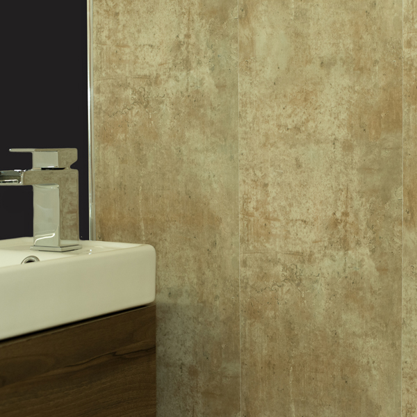 Antique Bronze Bathroom Wall Panels Cladding For Salon ...