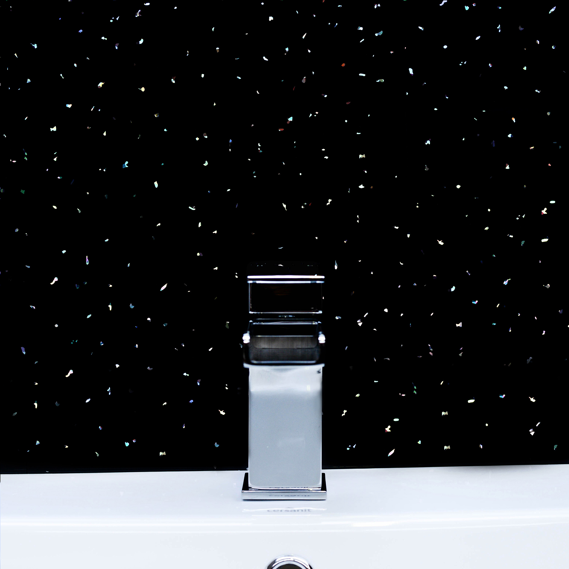 Black-amp-White-Sparkle-PVC-Bathroom-Wet-Wall-Cladding-Panels-Kitchen ...