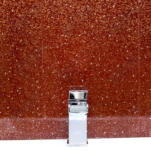 Bathroom Panels Red Sparkle Diamond