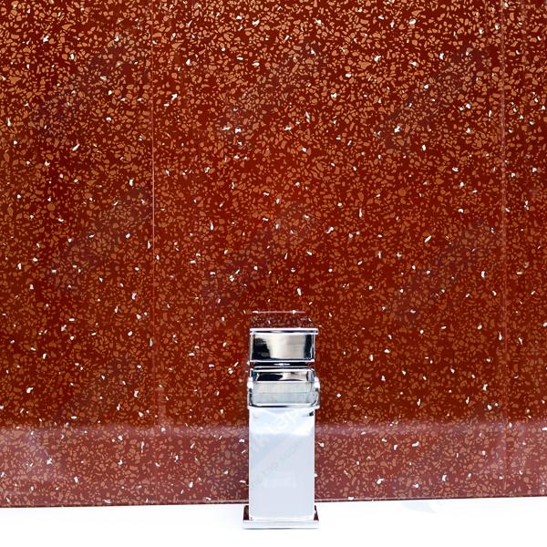 Bathroom Panels - Red Sparkle Diamond