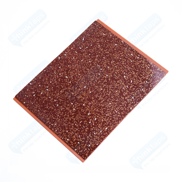 31 Decorative Bathroom Panels Red Sparkle Wall Ceiling Claddtech 159 01 Bathroom Panels Red Sparkle Diamond Thinktaps